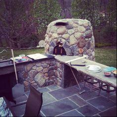 Outdoor pizza oven!!