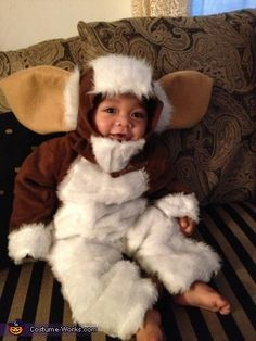 GIZMO Baby Costume - Halloween Costume...oh my god...for our future (so far in the future) kid, they can be twins with our gizmo