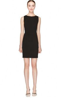 Pull of Este's Haim-tastic glam with a fitted black dress.