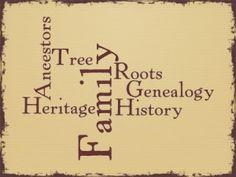 Genealogy, History, Heritage, Ancestors, Roots, Family Tree