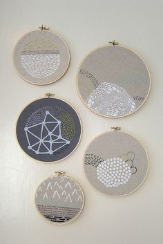 embroideries
