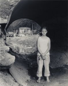 Appalachia, Tammy in Culvert (2008). SL Adams