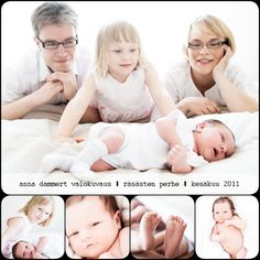 Newborn and family session