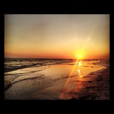 Matt and I saw this Sunset on Lido beach, Sarasota Florida. I think I could live with this.