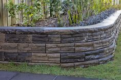 Retaining wall - backyard remodel