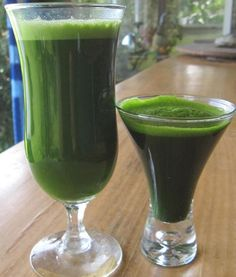 Powerful Detox Drink: Cucumber Kale Meyer Lemon Juice
