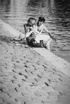 Quai du Louvre Paris 1963 Photo: Claude Renaud