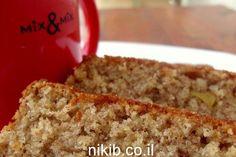 עוגת תפוחים ושיבולת שועל / צילום : ניקי ב