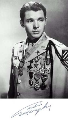 Virginia native Audie Murphy was the most decorated soldier of all time.