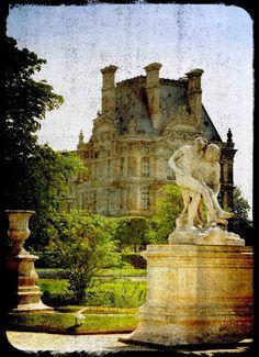 The Louvre no 3  Paris France 8x12 Ttv Matte by AnnaDelores, $30.00
