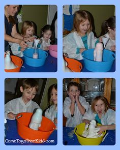 awesome science experiment from Come Together Kids
