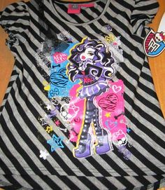 Monster High Girls Shirt Clothing