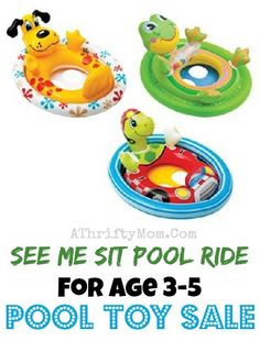 Toddler pool inflata
