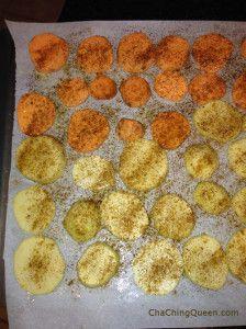 Easy Oven Potatoes Recipe - sweet potatoes and baking potatoes