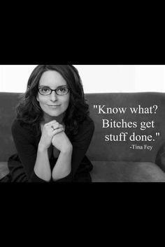 Love Tina Fey
