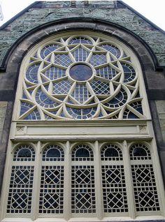 Greenstone Church Rose Window