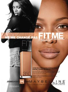 Maybelline Fit Me Foundation 2013 Ad Campaign