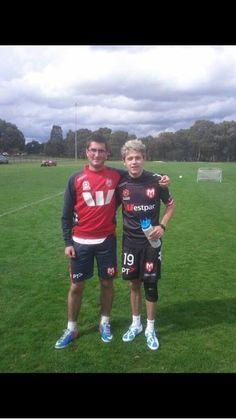 Sporty Niall is sporty.