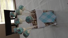 Baby Sprinkle Marshmallow Centerpieces Guest Can Eat!