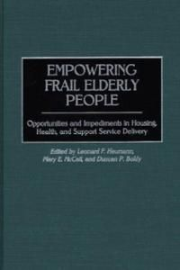 Empowering Frail Elderly People: opportunities and impediments in housing, health, and support service delivery (2000) / edited by Leonard F. Heumann, Mary E. McCall, and Duncan P. Boldy.  Mary McCall is a professor with the Psychology department.