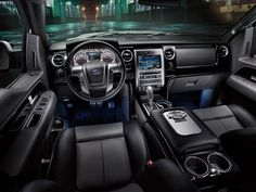 Harley Davidson F-150 interior