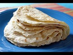 Homemade Tortillas - YouTube