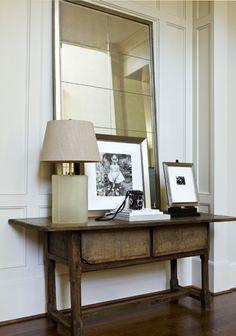 layered + elegant entry designed by Phoebe Howard