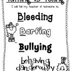 If they aren't bleeding, barfing, or bullying, it's tattling.