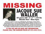 Jacque S.  Waller went missing June 1, 2011