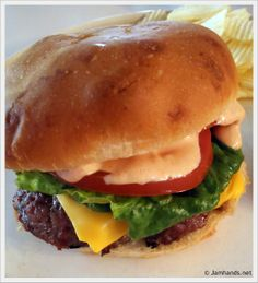 In-N-Out Cheeseburger Copycat