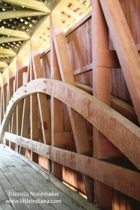 Indiana Covered #Bridges: Dana, #Indiana