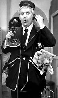 Captain Kangaroo (and let's not forget Mr. Green Jeans)  Mr Moose, too.