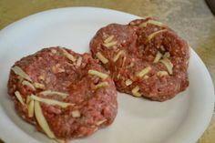 Best Burger Recipe Ever: It has grated Monterrey jack cheese, Sweet Baby Ray's BBQ sauce, season salt, cracked black pepper,