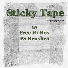 15 Tape Brushes