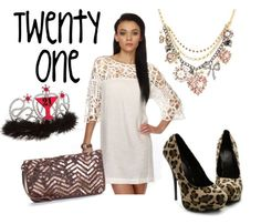 21st Outfit Birthday idea for the high heels