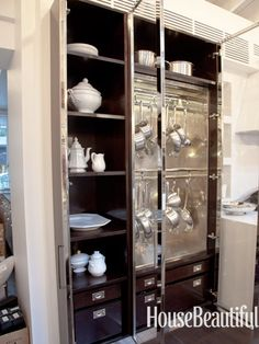 Mick De Giulio Kitchen of the Year - The 2012 Kitchen of the Year - House Beautiful LOVE the hanging pans!! b