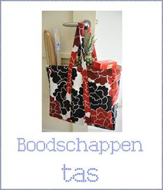 Free tutorial for a grocery bag in Dutch and English from Dreamstuff.