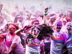 5Ks that are so fun you'll forget you hate running (Photo: Remko de Waal / EPA) hate, news, colors, healthi, the color run, fun 5k, ma fit, forget, 5ks