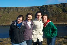 Students studying at Champlain Dublin, Ireland. Photo by Kaisa Jarrell '12
