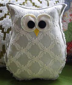 Owl Pillow.