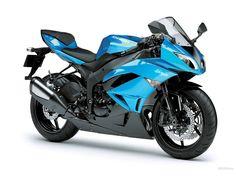 Kawasaki Ninja blue