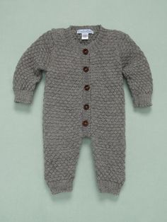 Feather Baby boys sweater romper