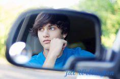 Posing Ideas for Senior Boys - great idea for kid with new car!