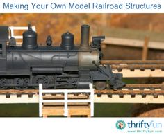 This guide is about making your own model railroad structures. Money can be saved by making your own buildings for a model railroad landscape.