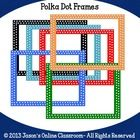 Polka+Dot+Clip+Art+Frames+-+File+includes+31+polka+dot+borders+in+various+colors+in+both+a+PNG+version+with+a+transparent+background+as+well+as+a+J...
