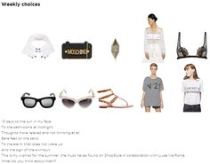 myfreechoice: This is my wishlist for the summer, the must haves found on ShopStyle in collaboration with Luisa Via Roma.