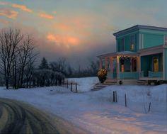 House in Winter,  Scott Prior (American, 1949--)