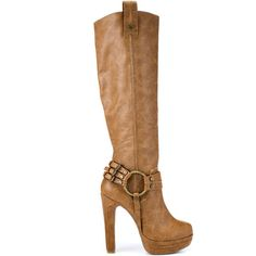 ZiGi Girl Knowing - Tan FX ($140) ❤ liked on Polyvore zigi girl, tans, style, heel tan, woman shoes, tan fx, closet, boots, zigi soho