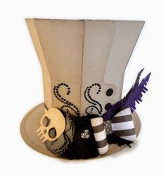 Needles 'n' Knowledge: Mourner's Decorated Top Hat Assembly Guide