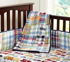 Madras Nursery Bedding on potterybarnkids.com   Crib SKirt, fitted sheet and quilt for 154